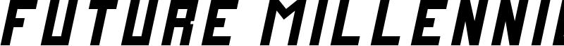 FutureMillennium Italic.ttf