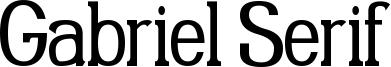 Gabriel Serif Condensed.ttf