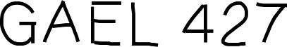 Gael 427 Font