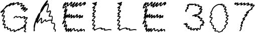 Gaelle 307 Font