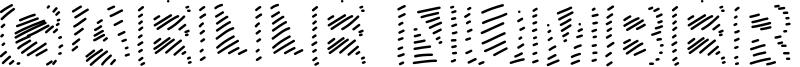 Gaelle Number 6 Font