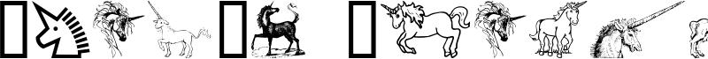 Gail's Unicorn Font