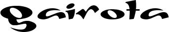 Gaivota Font