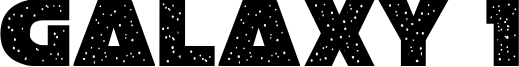 Galaxy 1 Font