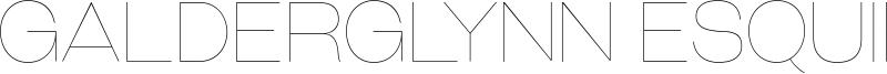 Galderglynn Esquire Font