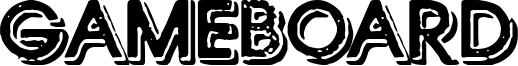 Gameboard Font
