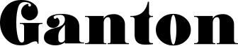 Ganton Font