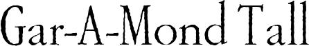 Gar-A-MondTall-Antique.ttf