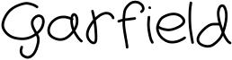Garfield Font