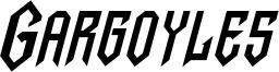 Gargoyles Italic.ttf