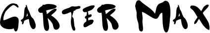 Garter Max Font