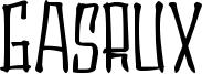 Gasrux Font