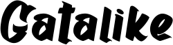 Gatalike Font
