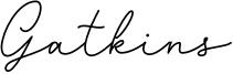 Gatkins Font
