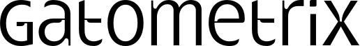 Gatometrix Font