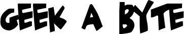 Geek a Byte Font