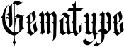 Gematype Font