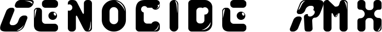 Genocide Rmx Font