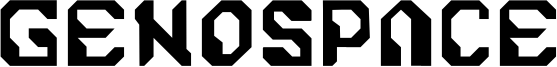 Genospace Font