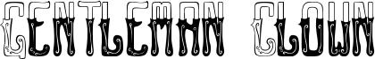 Gentleman Clown Font