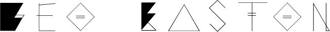 Geo Easton Font