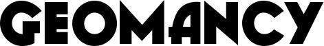Geomancy Font