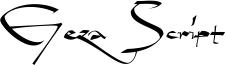 Geza Script Font