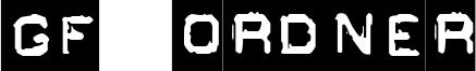 GF Ordner Font
