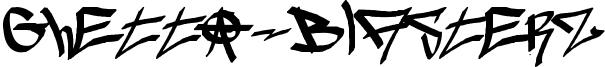 Ghetto-blasterz Font