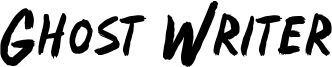 Ghost Writer Font