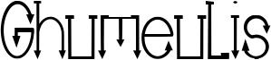 Ghumeulis Font