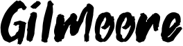 Gilmoore Font