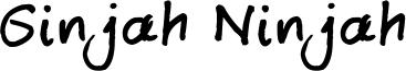 Ginjah Ninjah Font