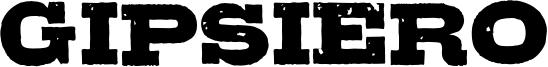 Gipsiero Font