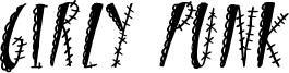 Girly Punk Font