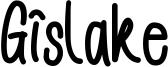 Gislake Font