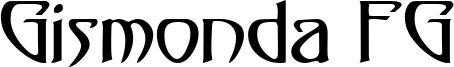 Gismonda FG Font