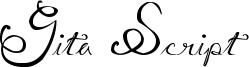 Gita Script Font