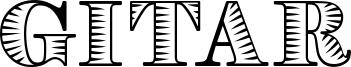 Gitar Font