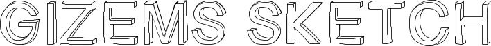 Gizems Sketch Font