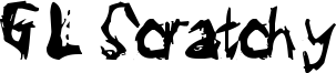 GL Scratchy Font