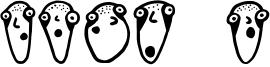 Glatze Font