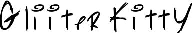 Gliiter Kitty Font