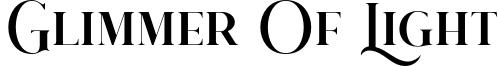 Glimmer Of Light Font