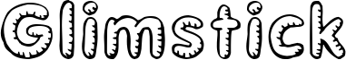 Glimstick Font
