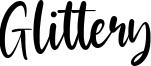 Glittery Font