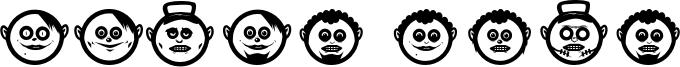Globe Face Font
