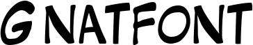 Gnatfont Font