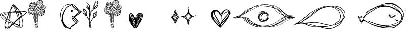 Go around the books - Symbols Font