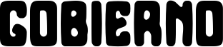 Gobierno Font